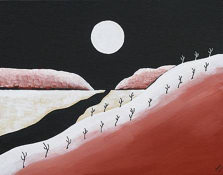 Distant Mesa by Heidi Moss