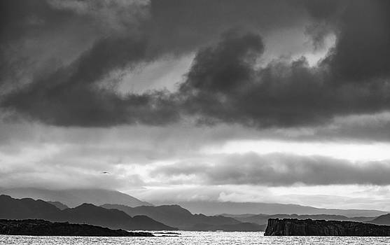 Distant shoreline, Skye by Neil Alexander