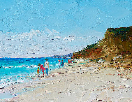 Jan Matson - Ditch Plains Beach Montauk Hamptons