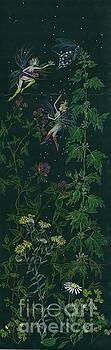 Ditchweed Fairy Raspberry Picking by Dawn Fairies