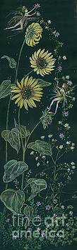 Ditchweed Fairy Sunflowers by Dawn Fairies