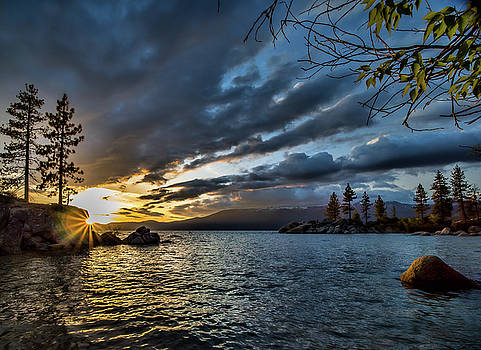 Diver's Cove at Sunset by Martin Gollery