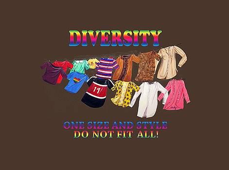 Diversity T-shirt by Dorothy Riley