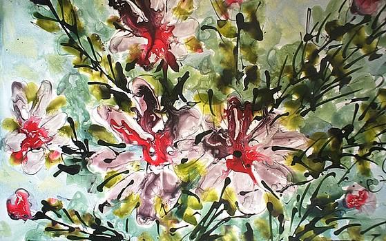 Divine Blooms-21102 by Baljit Chadha