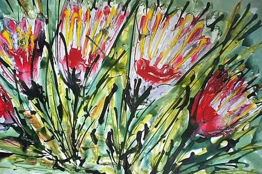 Divine Blooms-21104 by Baljit Chadha