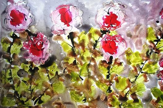 Divine Blooms-21107 by Baljit Chadha