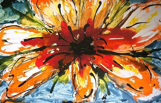 Divine Blooms-21119 by Baljit Chadha