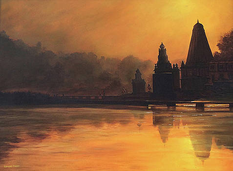 Divine Orange by Ramdas Thorat