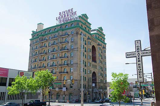 Divine Resurection - Divine Lorraine Hotel Philadelphia by Bill Cannon