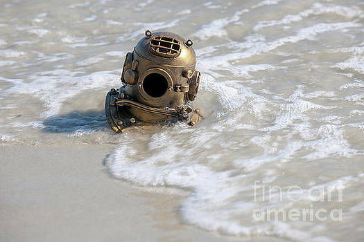 Dale Powell - Diving Helmet Washed Ashore