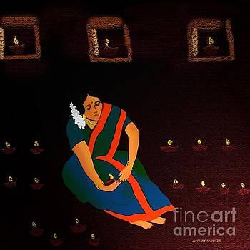 Diwali-The Night Of Diyas by Latha Gokuldas Panicker