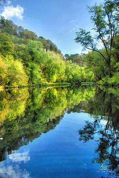 Sam Davis Johnson - Dix River Above the Rapids