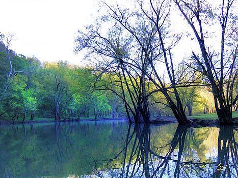 Sam Davis Johnson - Dix River Between the Stretches