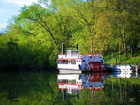 Sam Davis Johnson - Dixie Belle River Boat