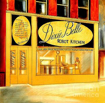 Peter Gumaer Ogden - Dixie Belle Robot Kitchen Circa 1935