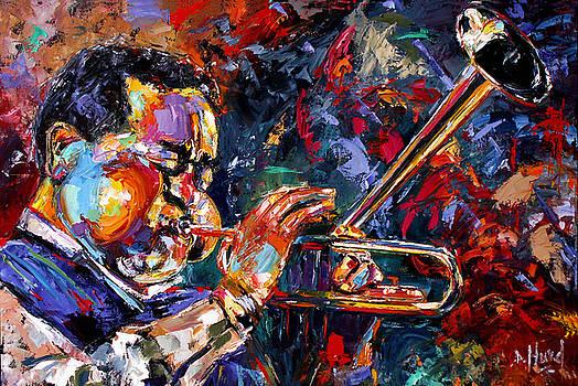 Dizzy Gillespie by Debra Hurd