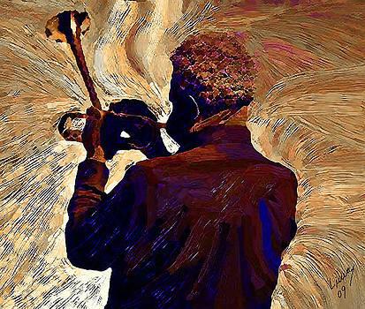 Dizzy Gillespie by Oriane Lima