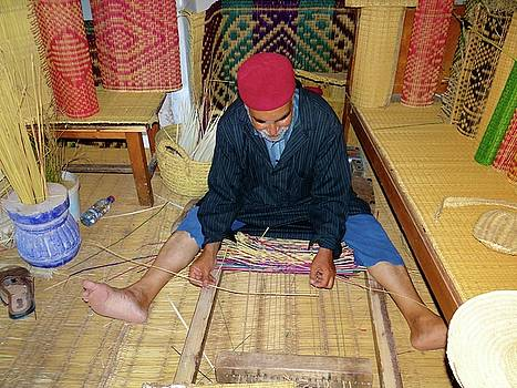 Djerba Oldest Mat Maker by Exploramum Exploramum