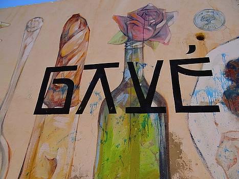Djerba Street Art - bottles and flowers by Exploramum Exploramum