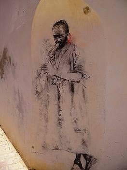 Djerba Street Art - Musician by Exploramum Exploramum