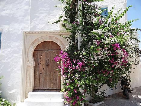 Djerba Street Art - Wooden Door by Exploramum Exploramum