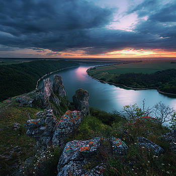 Dniester Canyon near village Nagotyani. Ukraine by Sergey Ryzhkov