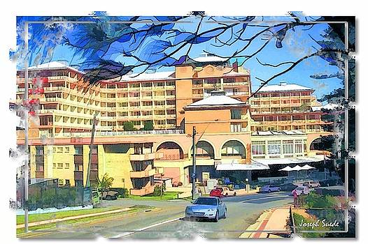 DO-00288 Crowne Plazza From a Hill by Digital Oil
