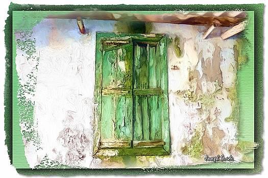 DO-00321 Moistened Window by Digital Oil