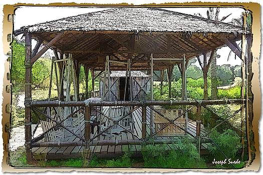 DO-00341 Cabin Outdoor Bois Des Pins by Digital Oil