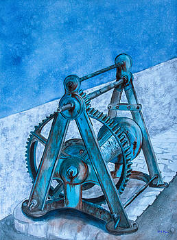 Boat Pulley by Vickie Myers