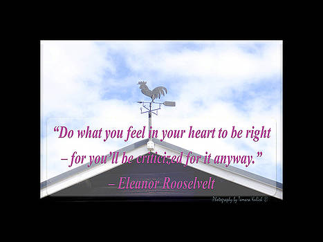 Tamara Kulish - Do what you feel in your heart to be right