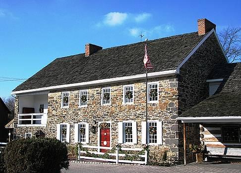 Dobbin House Christmas in Gettysburg by Angela Davies