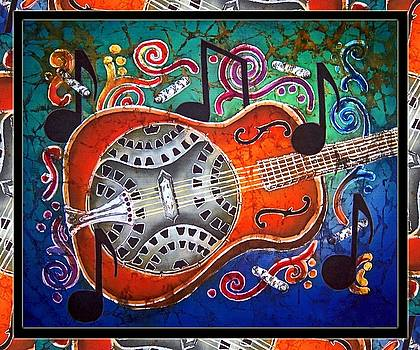 Sue Duda - Dobro - Slide Guitar-Bordered