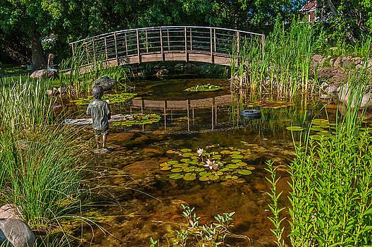 Dobson Flower Garden by Lonnie Paulson