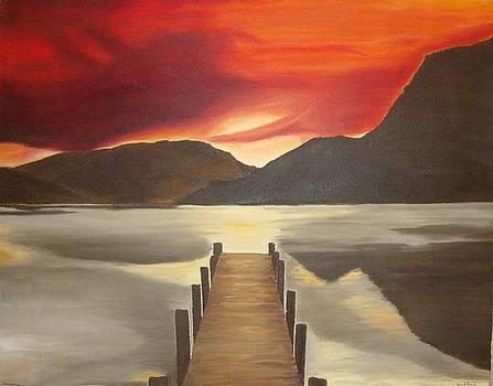 Dock Fishing by Jared  Kocak