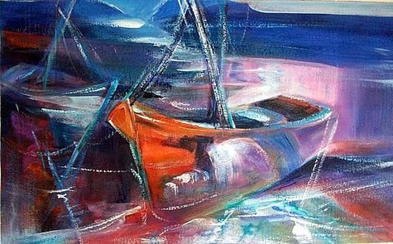'Dock 'o the Bay by Estelle Hartley