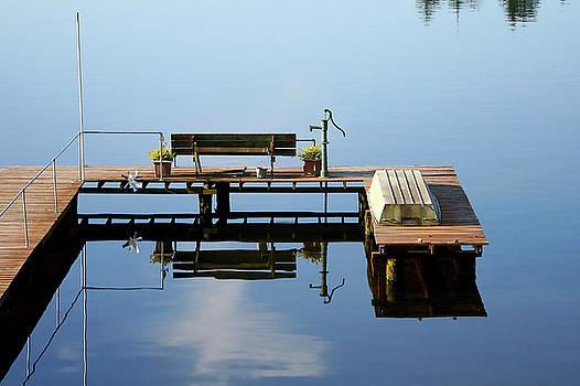 Art Block Collections - Dock on Kitsap Lake