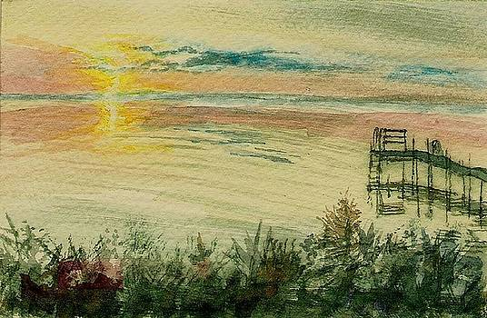 Dock on the Bay by Deb Stroh Larson