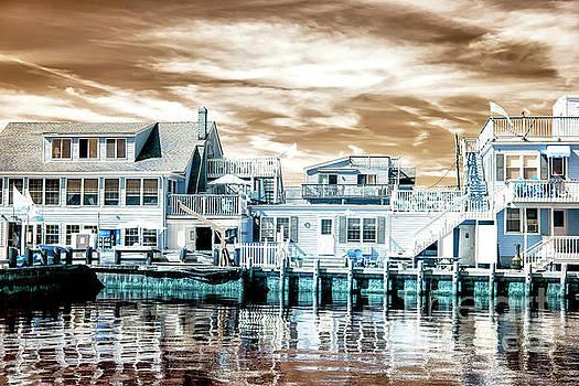 John Rizzuto - Dock View Infrared at Long Beach Island