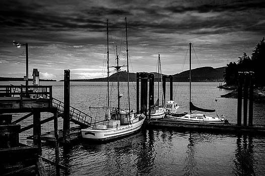 Docked for the Night by Barry Weiss