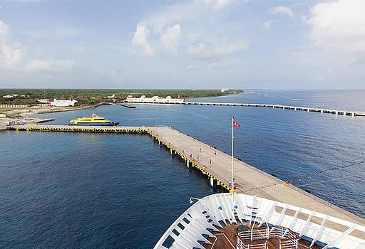 Ramunas Bruzas - Docked in Cozumel
