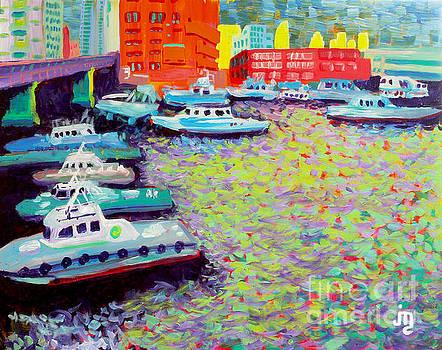 Docked In Yokohama by J Travis Duncan