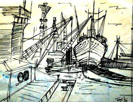 Docks by Arindam Basu