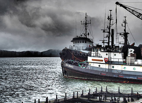 Dockside Tugs by Kevin Felts