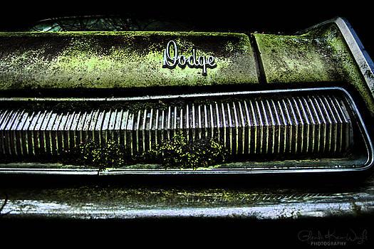 Dodge Green Grin by Glenda Wright