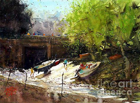 Doelan, stranding at Pont Du by Andre MEHU