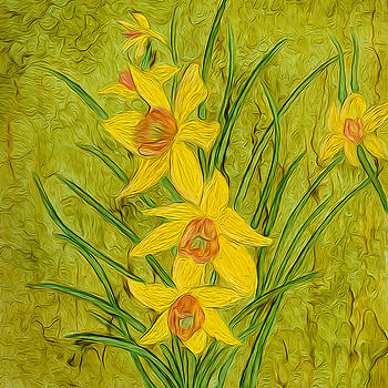 Daffodils Too by Laurie Williams