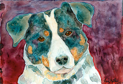 Dog Portrait by Andy  Mathis