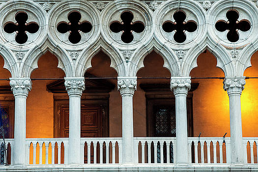 Doges Palace Up Close by Andrew Soundarajan