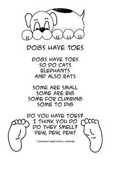 John Haldane - Dogs Have Toes